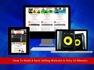 create your own beat selling website