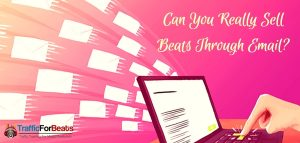sell beats with email